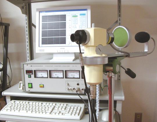 呼吸発声機能測定装置