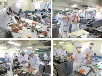 対面式授業&調理実習が充実!本格イタリアンはいかが?